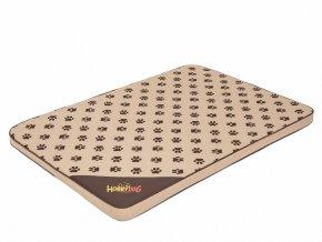 Matrace pro psa Light - béžová a packy L 100 x 67 x 3,5 cm