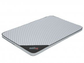 Matrace pro psa Light - šedá puntík XL 120 x 80 x 4 cm