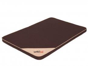 Matrace pro psa Light - tmavě hnědá L 10 x 67 x 3,5 cm