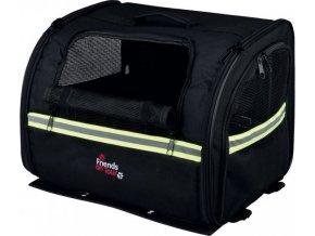 Přepravní nylonový box na nosič kola 35x28x29cm (max 8kg)