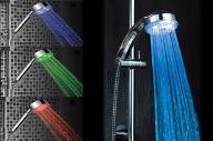 Barevná LED sprcha masážní až 7 barev