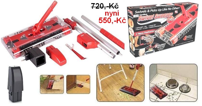 Bezdrátový vysavač Sweeper G6