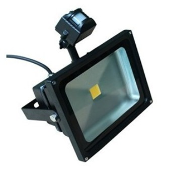 LED Reflektor 30W s čidlem