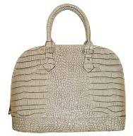 Luxusní kabelka GESSACI šedá