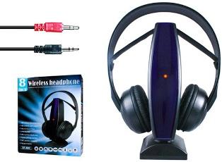 Bezdrátová multifunkční sluchátka 8v1