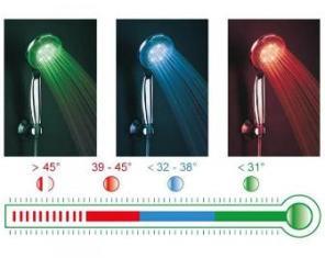 Barevná LED sprcha masážní