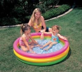 Bazén nafukovací INTEX 114 x 25 cm Hodnocení