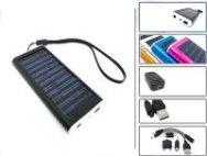Solární nabíječka 1350mAh