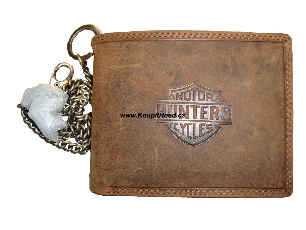 Kožená peněženka Hunters do boku