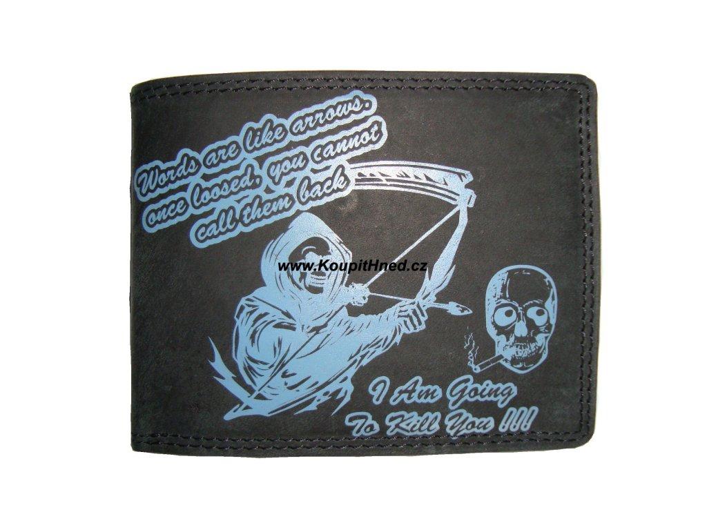 Kožená peněženka Hand Made