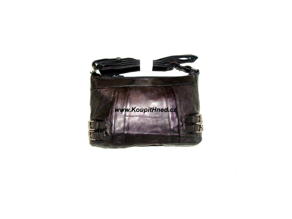 Kožená kabelka přes rameno