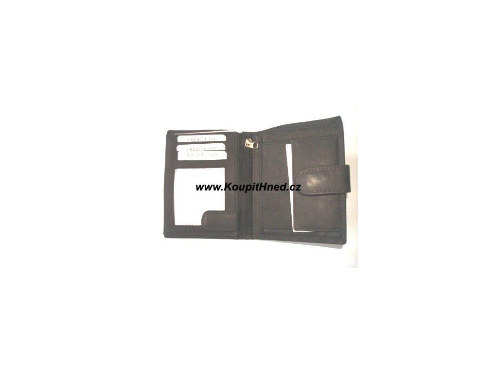 Kožená peněženka WILD na výšku