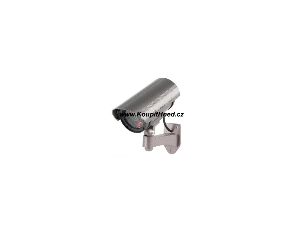 Venkovní bezpečnostní kamera s blikající LED