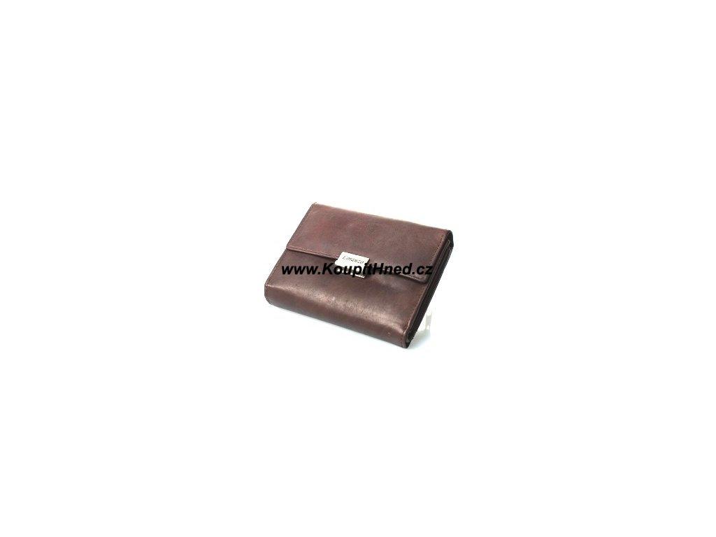 Dámská kožená peněženka krátká