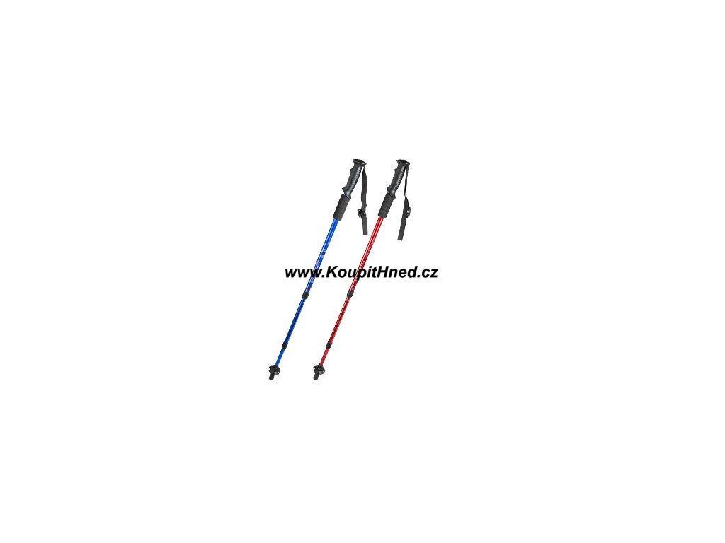 Sada dvou trekingových teleskopických holí