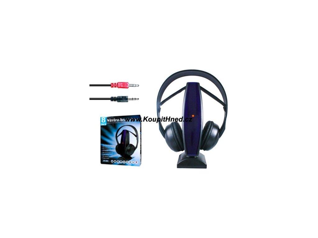 Bezdrátová multifunkční sluchátka 8v1 Novinka