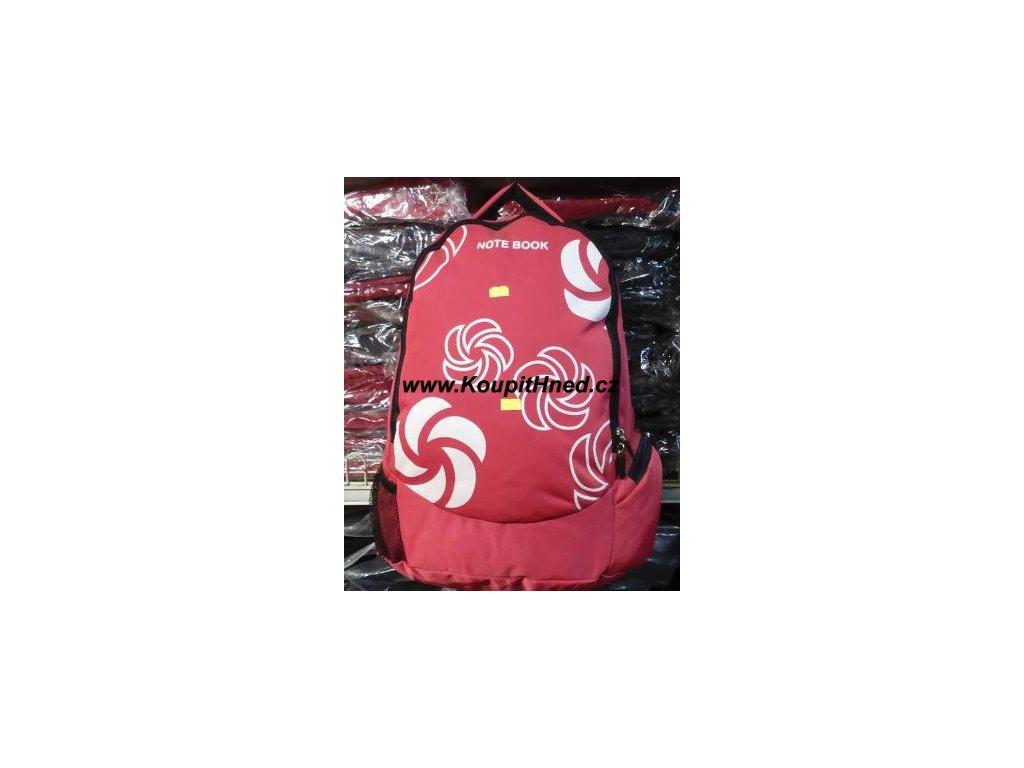 Batoh sportovní červený