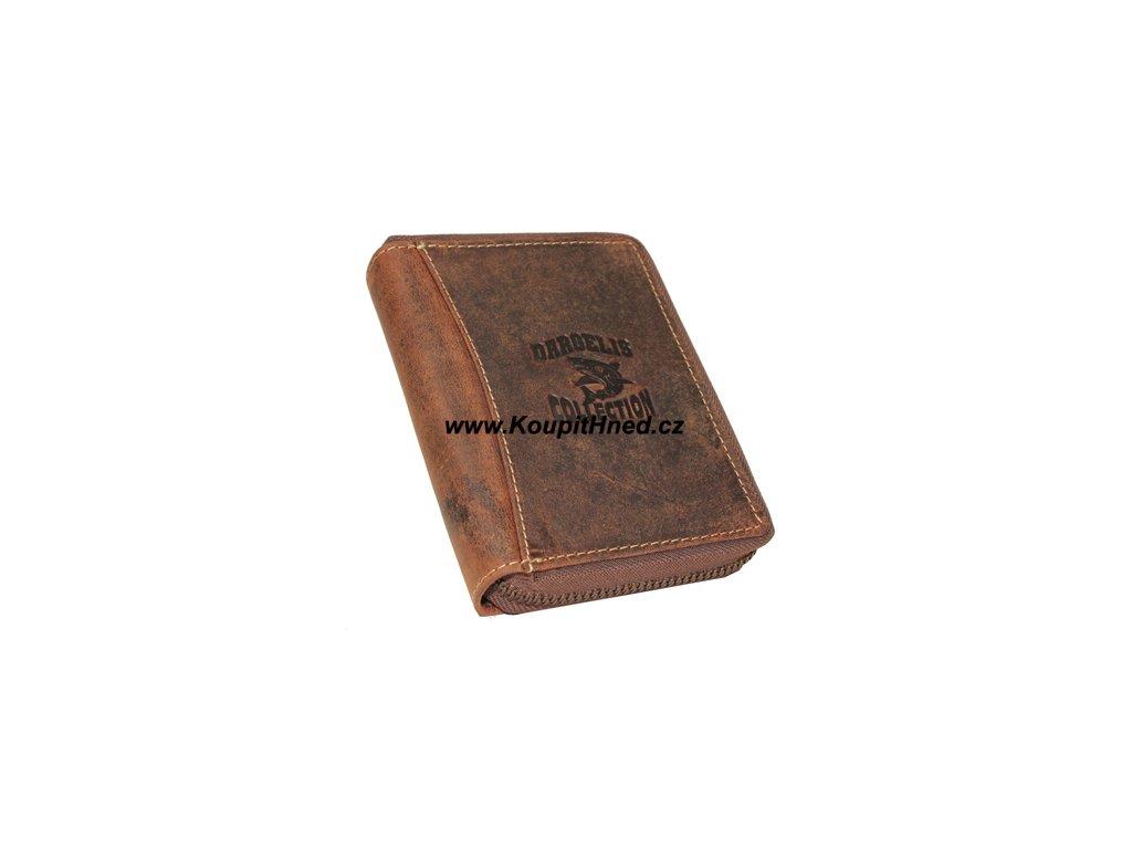 Pánská kožená peněženka na výšku DARGELIS