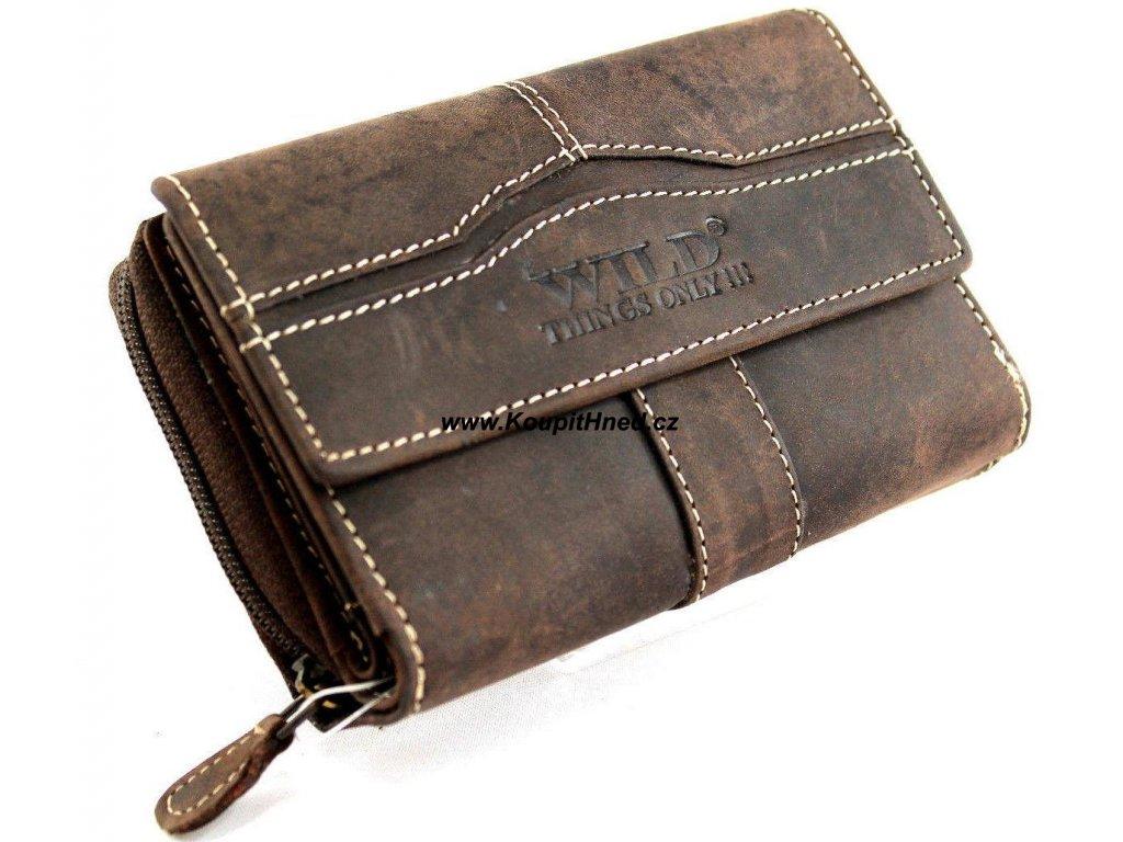 Damen Echt Leder Portemonnaie BrieftascheGeldbörseWallet WILD SJ 00161