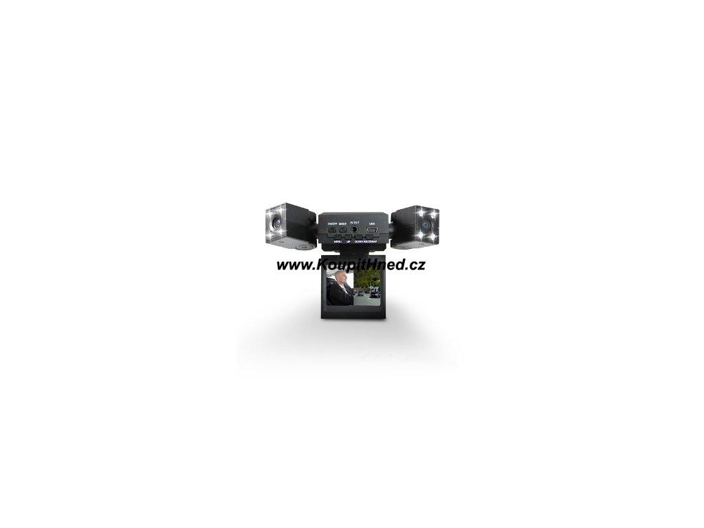 Dvojitá kamera do auta