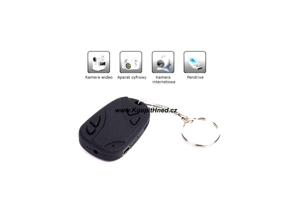 Špionážní mikro kamera - klíčenka