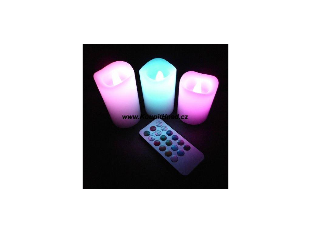 Svítící LED svíčky