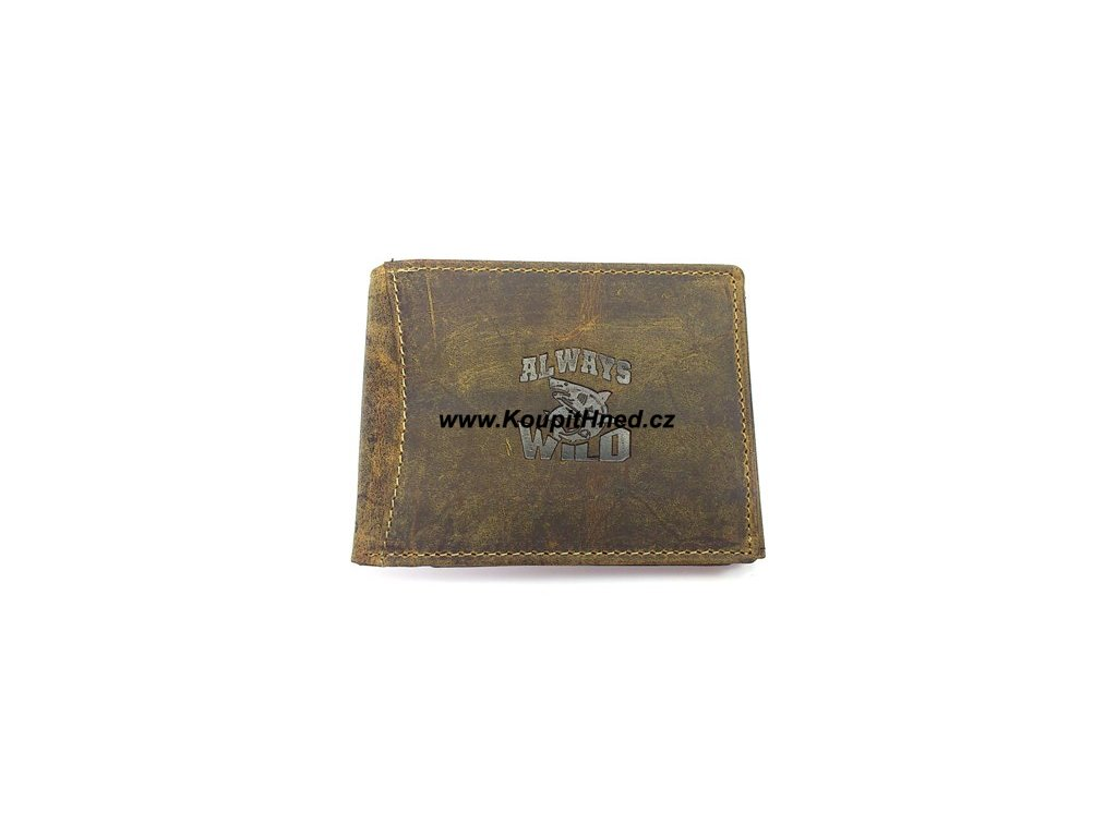 Kožená peněženka ALWAYS WILD