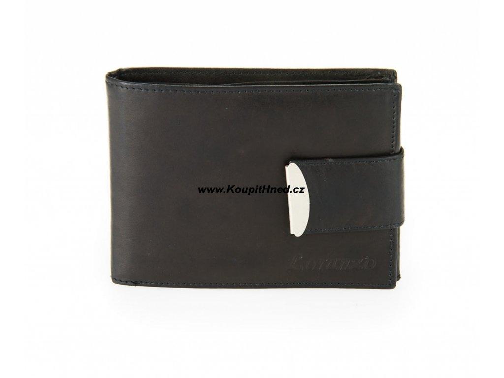Kožená peněženka se zapínáním