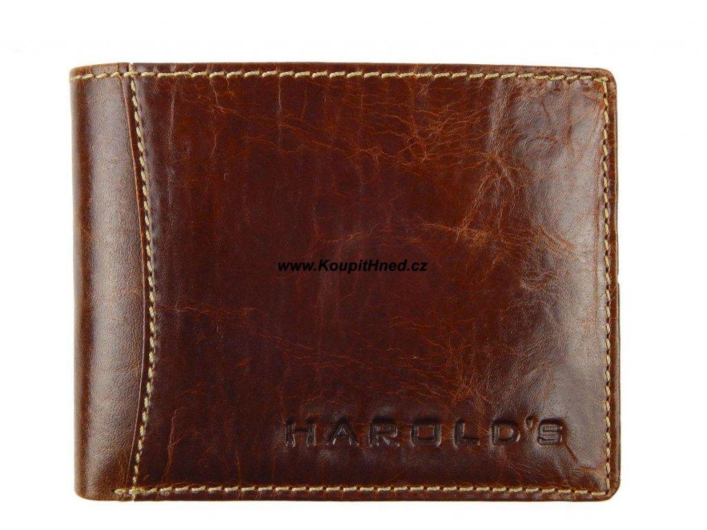 Kožená peněženka do boku