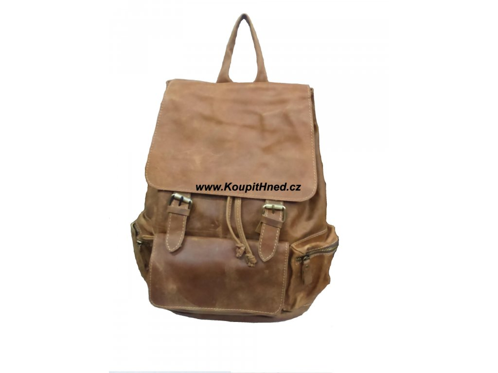 Kožený batoh