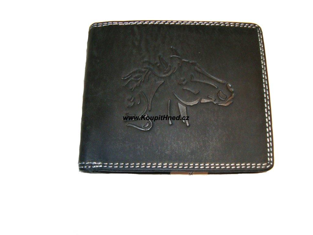 Kožená peněženka do boku kůň