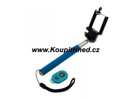 Teleskopická tyč na telefony s bluetooth ovladačem