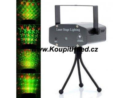 Laserový mini projektor s MP3