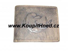 Kožená peněženka Delfín