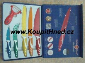 Sada titanových nožů s keramickou vrstvou