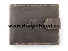 Kožená pánská peněženka WILD se zapínáním
