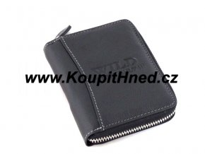 Kožená peněženka WILD na zip