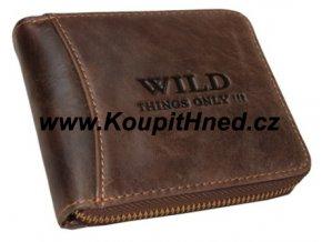 Kožená peněženka WILD do boku