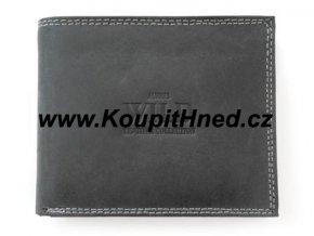 Kožená peněženka WILD do boku bez zapínání