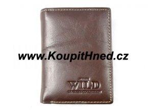 Pánská kožená peněženka na výšku WILD