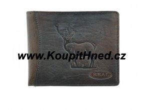 Kožená peněženka Jelen
