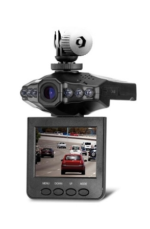 Záznamová kamera do auta HD DVR Portable CZ menu