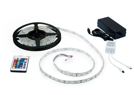 LED Strip pásek s IR dálkovým ovladačem 5m