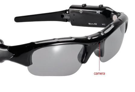 Sluneční brýle s DVR kamerou
