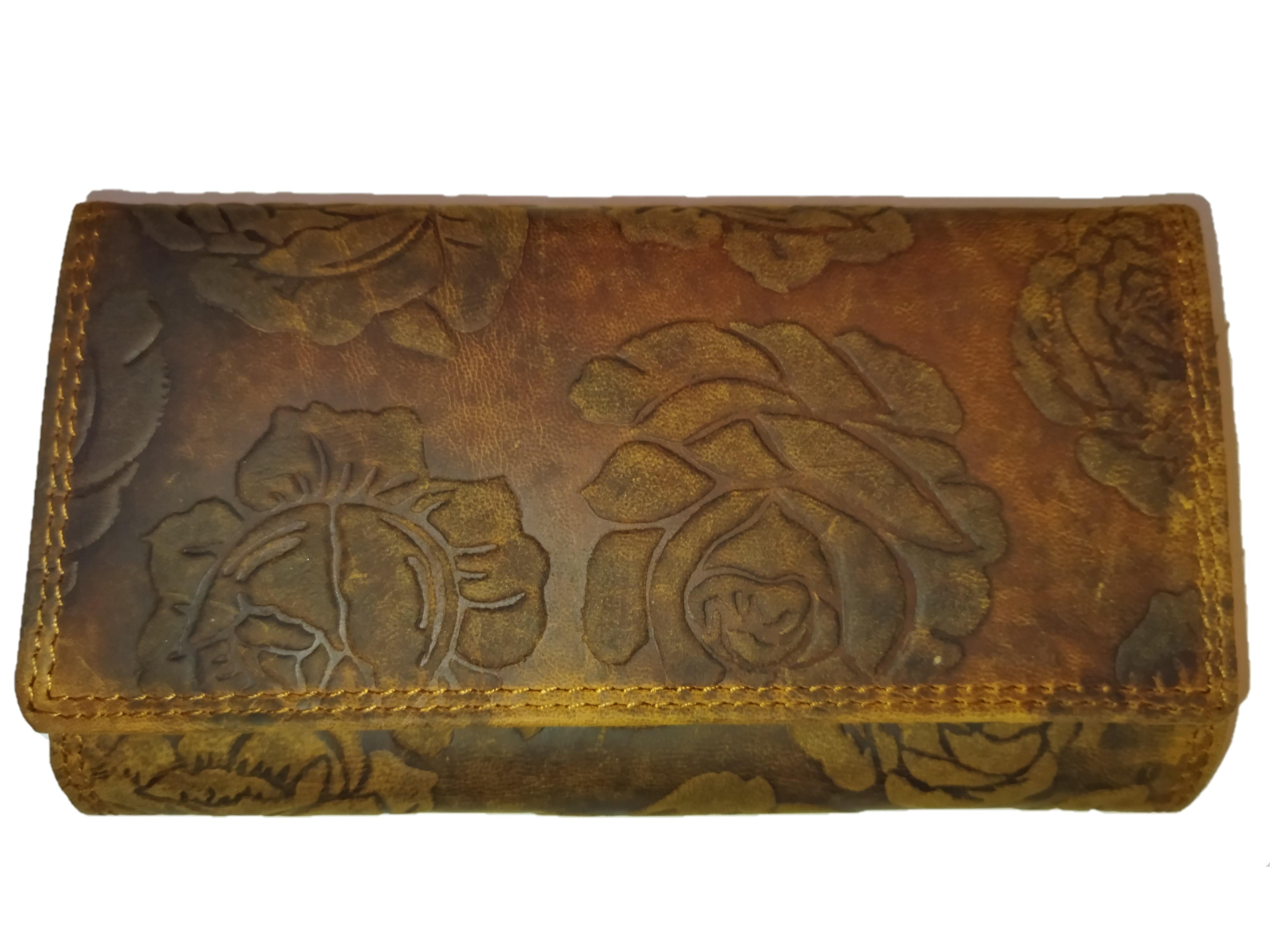 Kožená dámská peněženka WILD