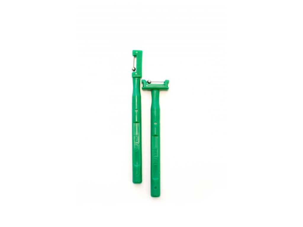 TONGUE TIP pomůcky pro laterizaci a elevaci jazyka (2ks v bal.) Tmavě zelené