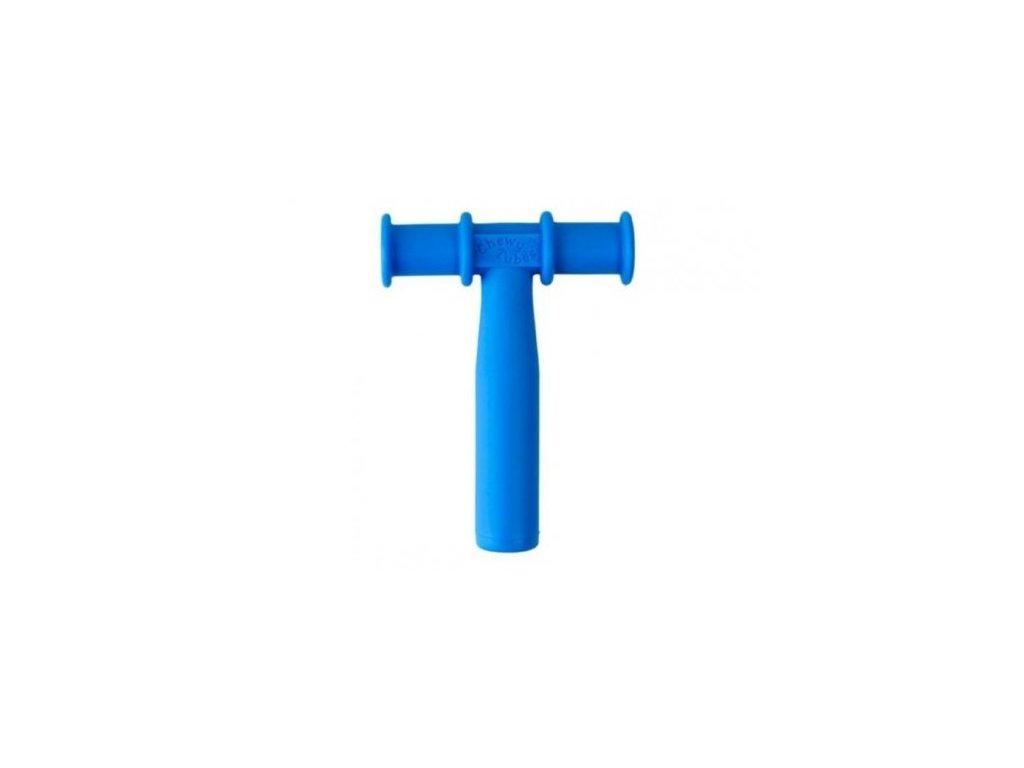 Chewy Tube žvýkací trubička hladká Ø16mm Měkká Královská modř
