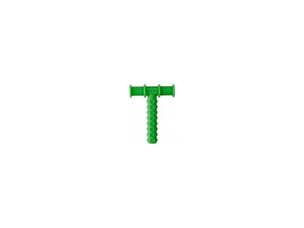 Chewy Tube žvýkací trubička texturovaná Ø12mm Měkká Světle zelená Chewy Tube žvýkací trubička texturovaná Ø12mm Měkká Světle zelená