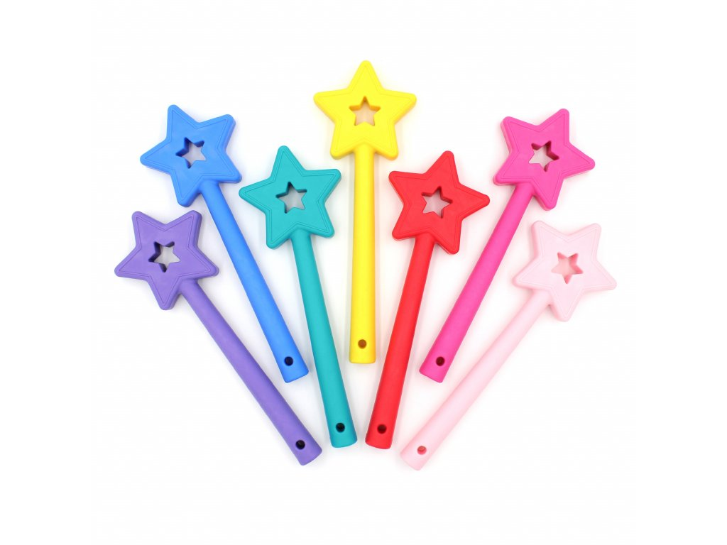 PRINCESS - kouzelnická hůlka - žvýkací pomůcka