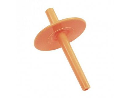 Náustek pružný (délka 2 cm) Oranžový 4